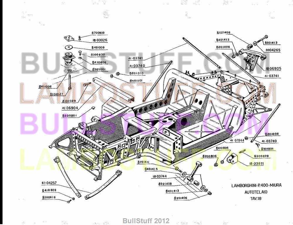 on Lamborghini Miura Wiring Diagram