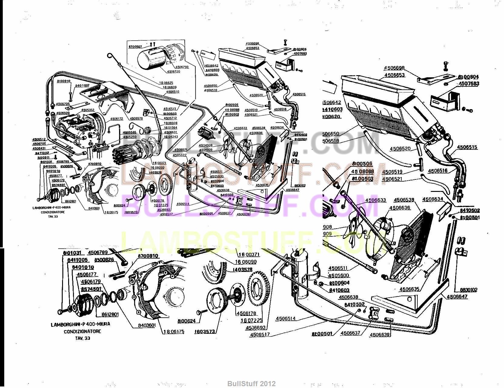 Lamborghini Jalpa Wiring Diagram And Schematics Engine Diagrams 1966 1972 Miura Usa Air Conditioner 33 Rh Bullstuff Com Reventon Gallardo Superleggera