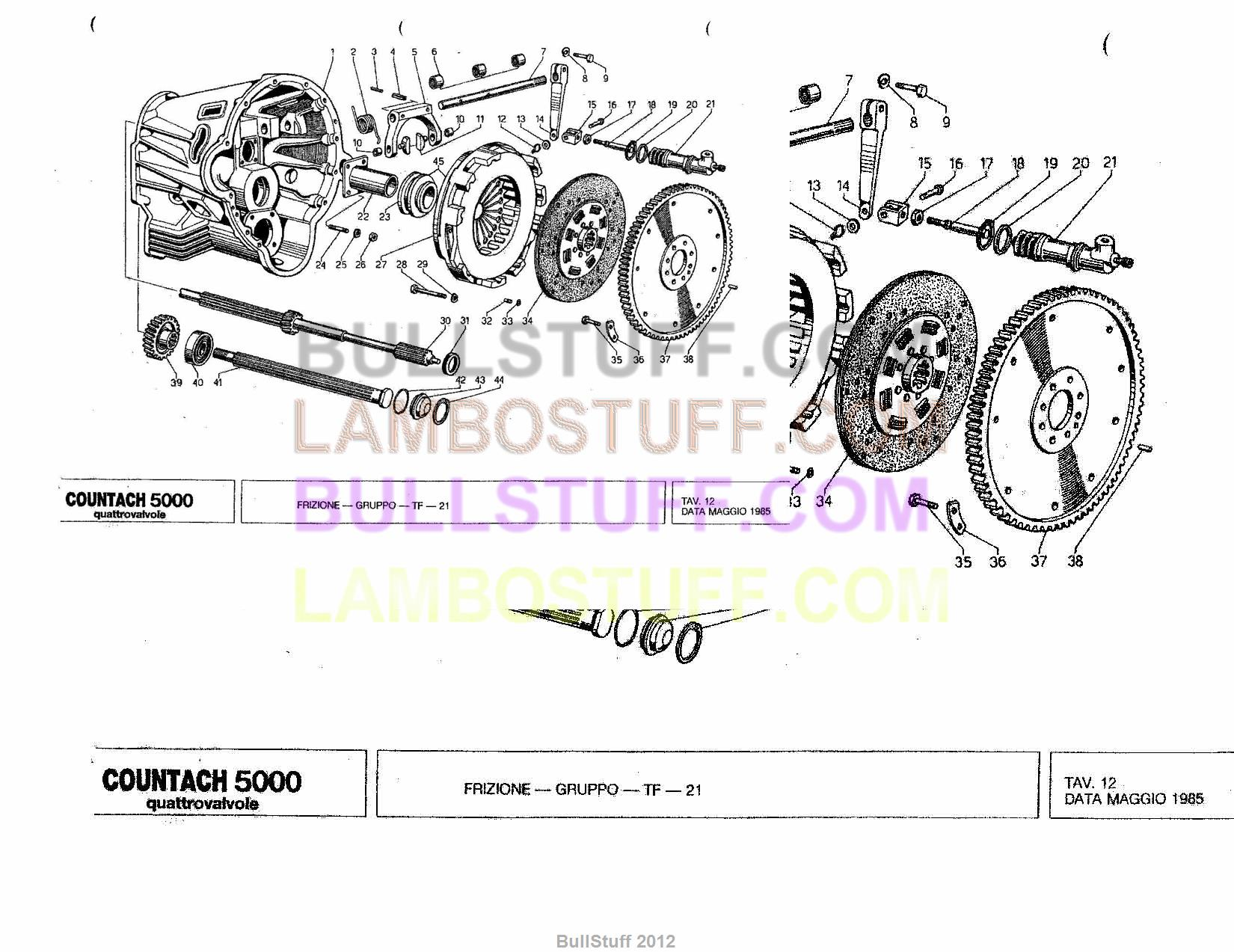 Lamborghini Countach Fuel Injector 002021147
