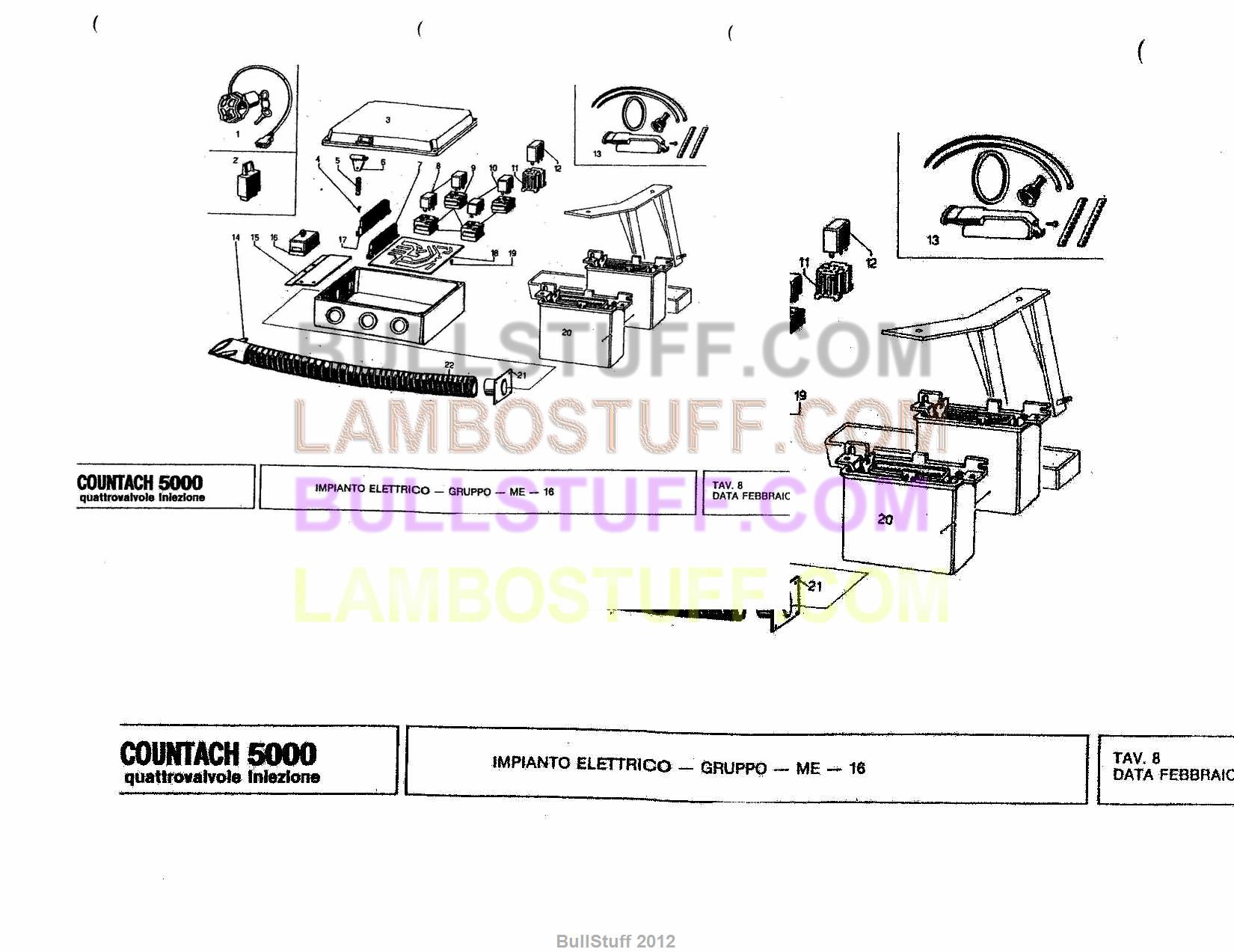 service manual how to wire a 1986 lamborghini countach. Black Bedroom Furniture Sets. Home Design Ideas