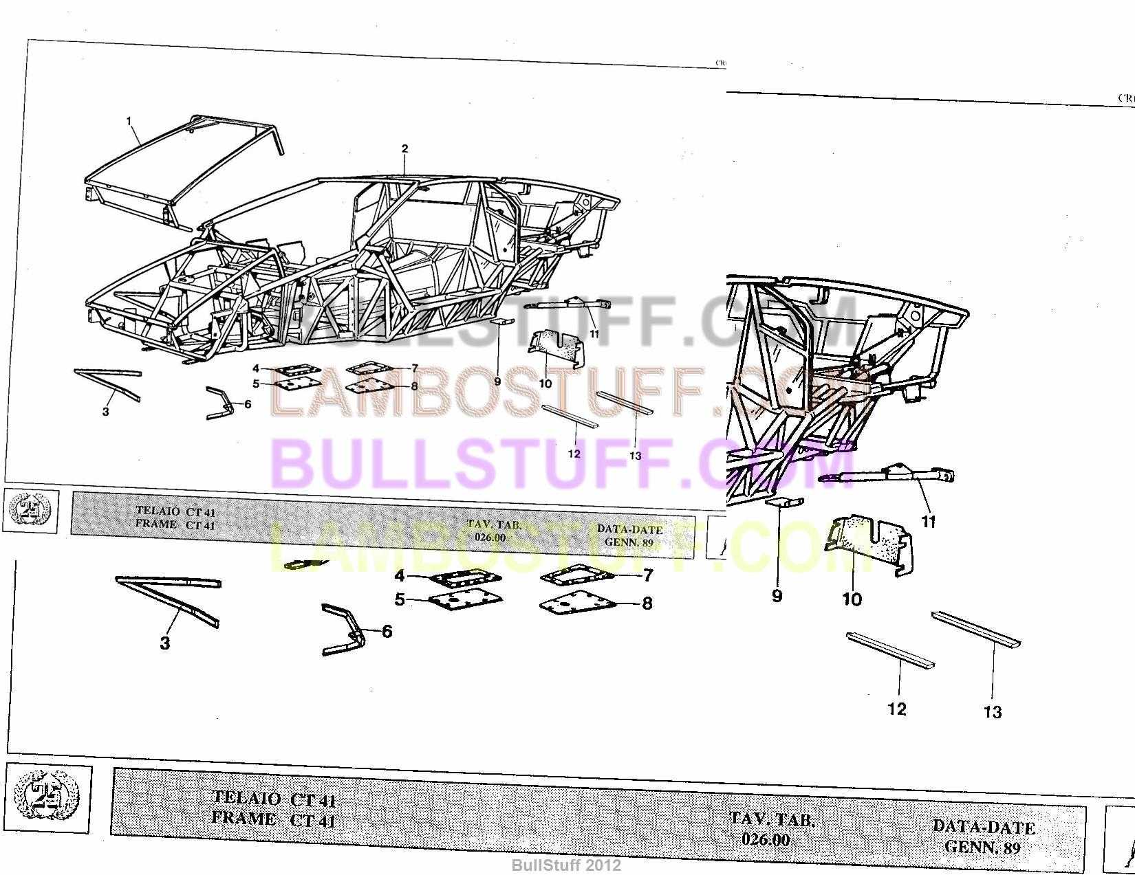 service manual 1989 lamborghini countach wiring diagram. Black Bedroom Furniture Sets. Home Design Ideas