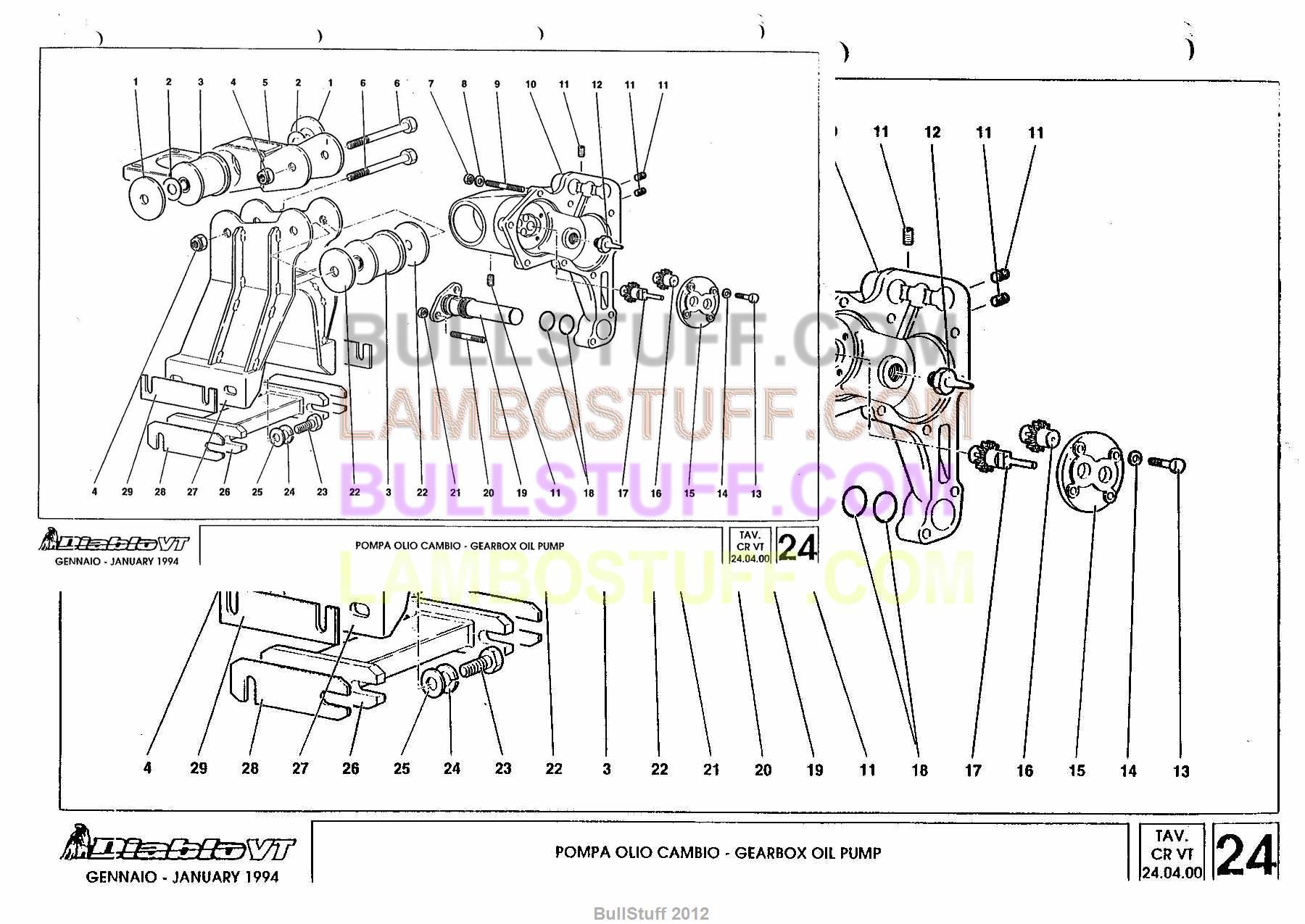 lamborghini 400 wiring diagram