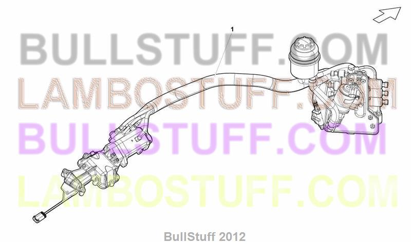 2008 Lamborghini GALLARDO SPYDER USA EGEAR ACTUATOR ASSEMBLY – Lamborghini Gallardo Engine Diagram