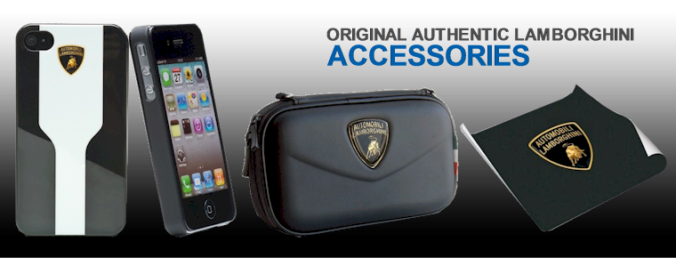 Original Lamborghini Accessories and Gear