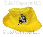 Hat Kids Yellow with Bull