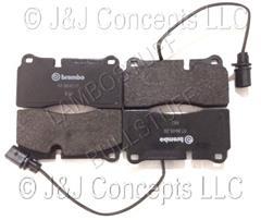 Brake Pad Kit Rear - Murcielago - Gallardo - Sold as 2 pair