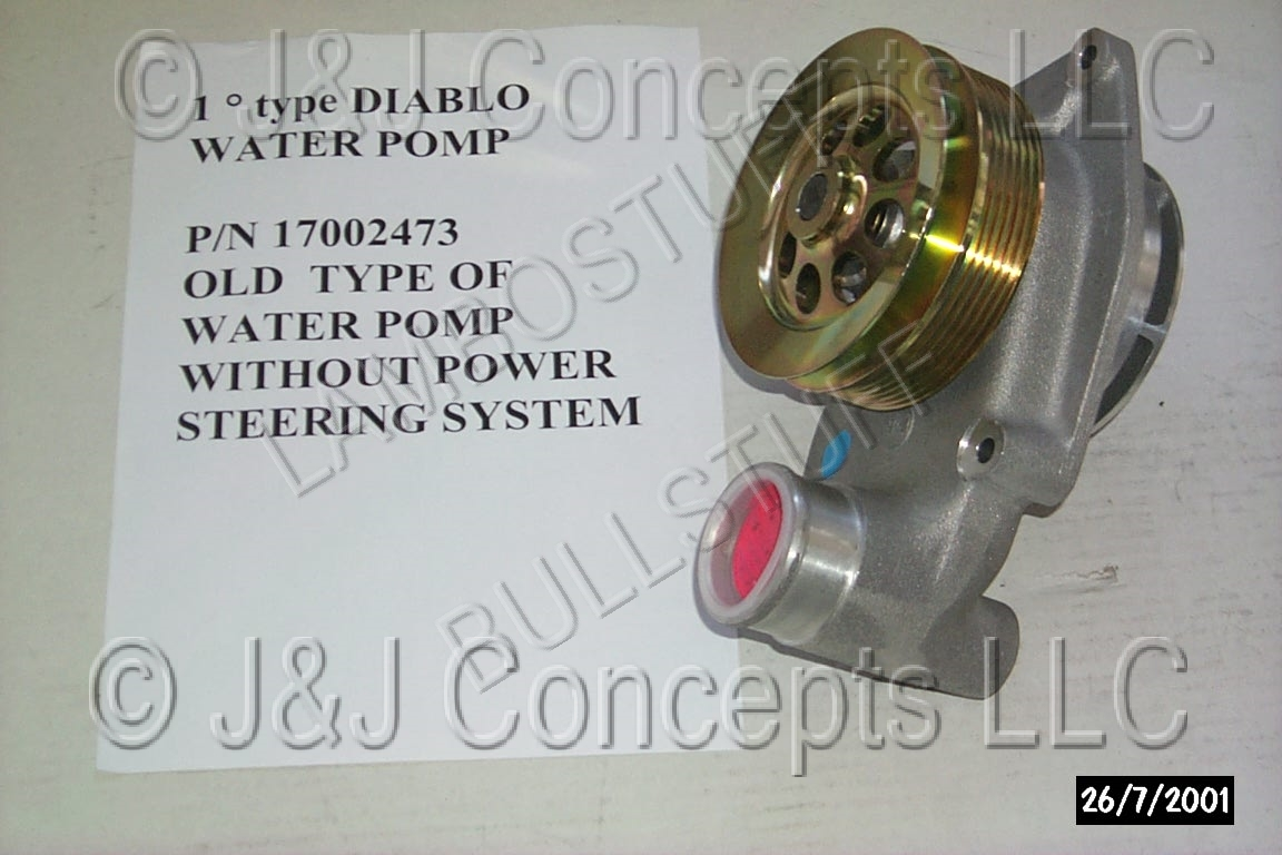 Water Pump (2WD w/o Power Stearing)  (1991-1994)