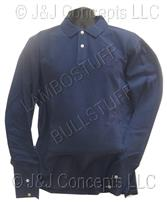 Mens Blue Hydrogen Long Sleeve Polo size XXL -50% OFF