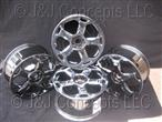 Cassiopea Black Chrome Wheel Set