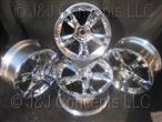 Callisto Chrome Wheel Set