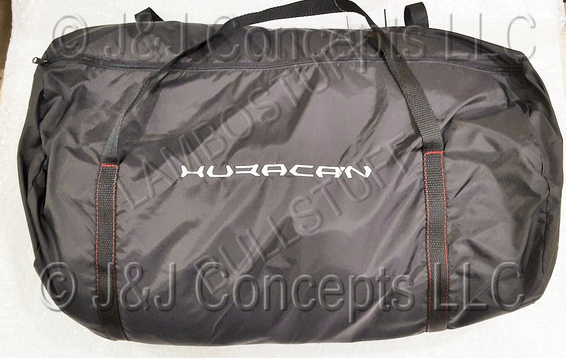HURACAN CAR COVER WHITE STITCHING INDOOR