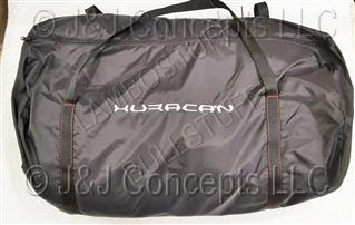 HURACAN CAR COVER ORANGE STITCHING INDOOR