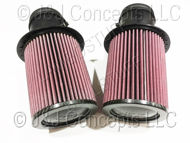 Pair High Flow K&N Air filter Gallardo LP 550,560-4,570