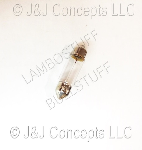 Bulb for license plate lamp