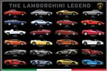 Poster The Lamborghini Legend  36 in x 24 in