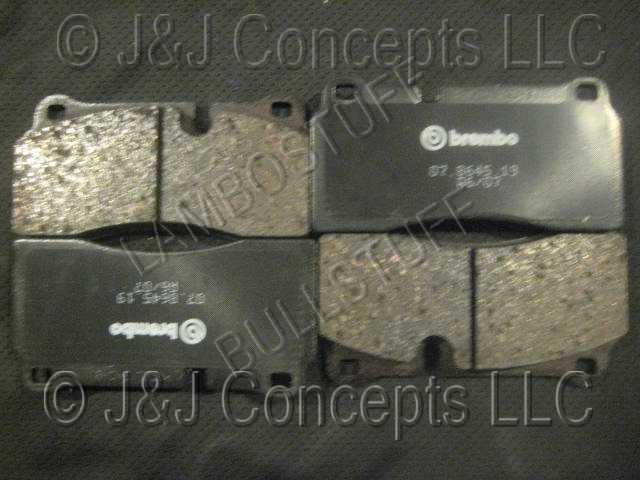 E-BRAKE PAD SET GALLARDO LP560